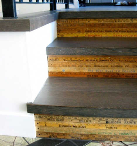 Old rulers for creative stairs.jpg